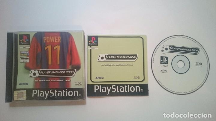PLAYER MANAGER 2000 SONY PLAYSTATION PS1 PSX PAL UK. (Juguetes - Videojuegos y Consolas - Sony - PS1)
