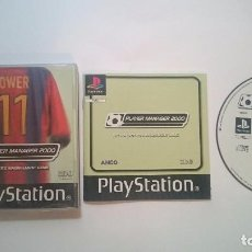 Videojuegos y Consolas: PLAYER MANAGER 2000 SONY PLAYSTATION PS1 PSX PAL UK.. Lote 61972468