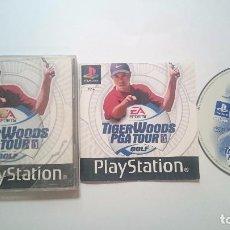 Videojuegos y Consolas: TIGER WOODS PGA TOUR GOLF SONY PLAYSTATION PS1 PSX PAL UK.. Lote 61997528