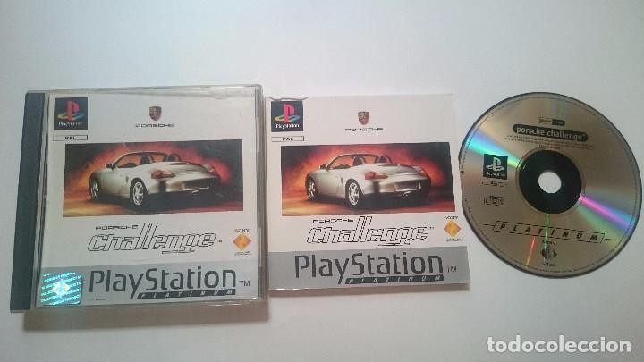 JUEGO COMPLETO PORSCHE CHALLENGE SONY PLAYSTATION PS1 PSX PAL ESPAÑA. (Juguetes - Videojuegos y Consolas - Sony - PS1)