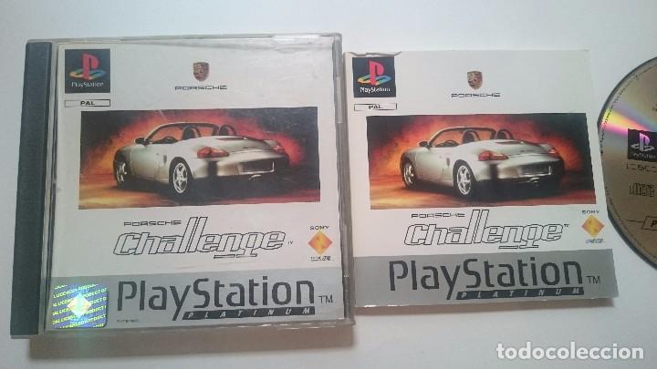 Videojuegos y Consolas: JUEGO COMPLETO PORSCHE CHALLENGE SONY PLAYSTATION PS1 PSX PAL ESPAÑA. - Foto 2 - 62008520
