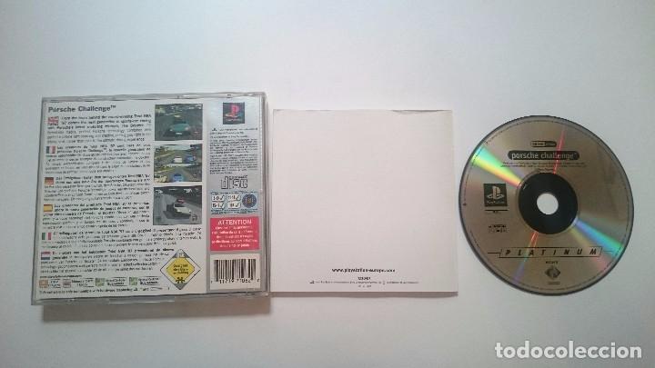Videojuegos y Consolas: JUEGO COMPLETO PORSCHE CHALLENGE SONY PLAYSTATION PS1 PSX PAL ESPAÑA. - Foto 3 - 62008520