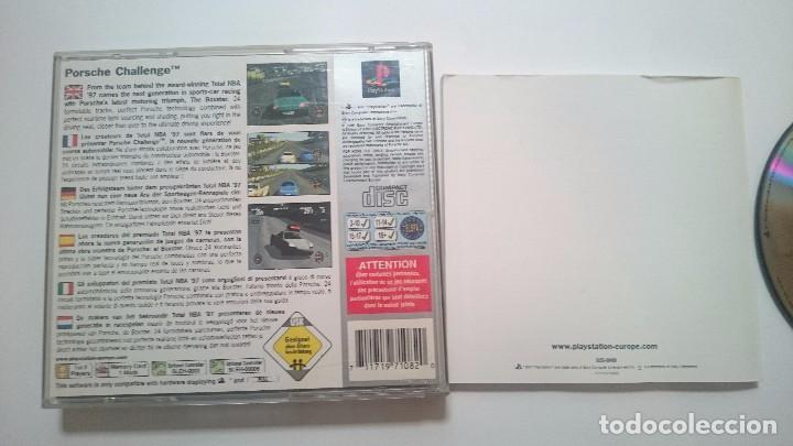 Videojuegos y Consolas: JUEGO COMPLETO PORSCHE CHALLENGE SONY PLAYSTATION PS1 PSX PAL ESPAÑA. - Foto 4 - 62008520