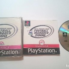 Videojuegos y Consolas: F.A. PREMIER LEAGUE FOOTBALL MANAGER 2000 SONY PLAYSTATION PS1 PSX PAL UK. Lote 62046344