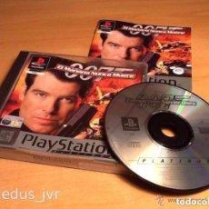 Videojuegos y Consolas: EL MAÑANA NUNCA MUERE JAMES BOND 007 PARA SONY PLAY STATION PLAYSTATION 1 PS1 PAL ESPAÑA COMPLETO. Lote 62051136