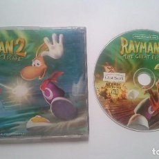 Videojuegos y Consolas: JUEGO RAYMAN THE GREAT ESCAPE 2 SONY PLAYSTATION PS1 PSONE PSX PAL UK.. Lote 62111096