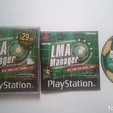 Videojuegos y Consolas: JUEGO COMPLETO LMNA MANAGER PLAYSTATION 1 PS1 PSONE PSX.PAL UK. Lote 62300468