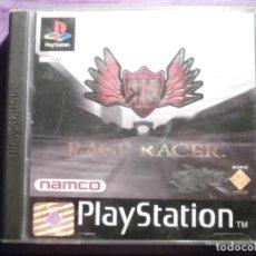 Videojuegos y Consolas: JUEGO PLAYSTATION 1 - PS1 - RAGE RACER - NAMCO - ORIGINAL-. Lote 62484144