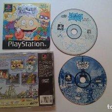 Jeux Vidéo et Consoles: PACKS RUGRATS: SEARCH FOR REPTAR Y IN PARIS PLAYSTATION 1 PS1 PSX.PAL UK.. Lote 62799144