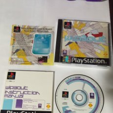 Videojuegos y Consolas: JUEGO WIP3OUT PLAY PLAYSTATION STATION 1 PSX COMPLETO. Lote 63182506