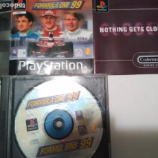 Videojuegos y Consolas: FORMULA ONE 99 F1 FIA PLAYSTATION 1 PS1 PSONE PSX PAL . Lote 64369283