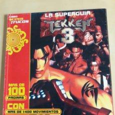 Videojuegos y Consolas: LA SUPER GUÍA TEKKEN 3. Lote 64492059