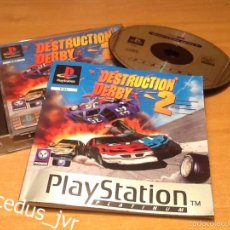 Videojuegos y Consolas: DESTRUCTION DERBY 2 JUEGO PARA SONY PLAYSTATION 1 PLAY STATION PS1 PAL ESPAÑA. Lote 64581203
