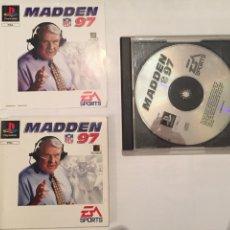 Videojuegos y Consolas: JUEGO MADDEN 97 PLAY STATION 1 PLAY 1 PSX. Lote 65964901