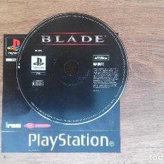 Videojuegos y Consolas: BLADE PLAYSTATION 1. Lote 161165934