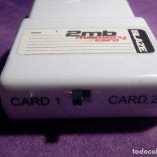 Videojuegos y Consolas: TARJETA DE MEMORIA - BLAZE 2MB. - CON SELECTOR DE TARJETA Y Y TARJETA 2 - PS1 PS2 ?. Lote 66837774