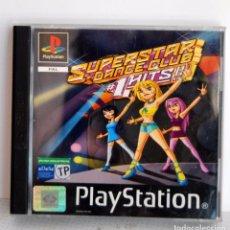 Videojuegos y Consolas: SUPERSTAR DANCE CLUB 1 HITS!! DE PLAYSTATION PSX PS ONE HITS. Lote 67612181