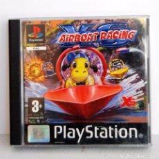 Videojuegos y Consolas: XS AIRBOAT RACING DE PLAYSTATION TIPO MARIO KART PSX PS ONE. Lote 67613569