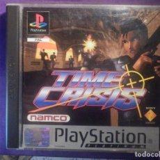 Videojuegos y Consolas: JUEGO PLAYSTATION 1 - PS1 - TIME CRISIS - NAMCO - SONY - ORIGINAL COMPLETO -. Lote 67693885