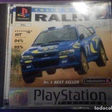 Videojuegos y Consolas: JUEGO PLAYSTATION 1 - PS1 - RALLY - COLIN MACRAE NAMCO - SONY - ORIGINAL COMPLETO -. Lote 67694077