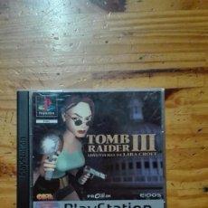 Videojuegos y Consolas: TOMB RAIDER 3 PS1. Lote 68126217