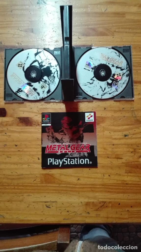 Videojuegos y Consolas: metal gear solid ps1 - Foto 2 - 68126413