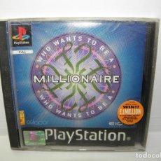Videojuegos y Consolas: JUEGO MILLONAIRE - PS1 PSX PLAYSTATION 1 - UK. Lote 68149641