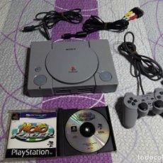 Videojuegos y Consolas: CONSOLA SONY PLAYSTATION PS1 + MANDO + JUEGO (FUNCIONANDO CORRECTAMENTE). Lote 68405989