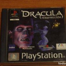 Videojuegos y Consolas: DRACULA RESURRECCION PAL ESPAÑA COMPLETO SONY PLAYSTATION PS1 PSX. Lote 69020593