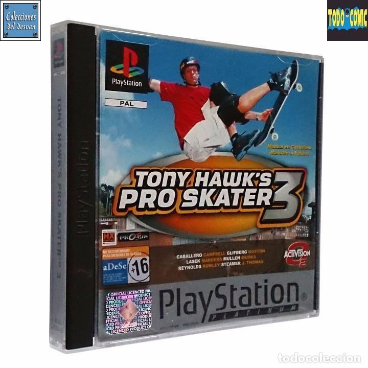 TONY HAWK'S PRO SKATER 3 / JUEGO PLAYSTATION PLAY STATION PSONE / PAL / ACTIVISION 2001 (Juguetes - Videojuegos y Consolas - Sony - PS1)
