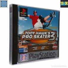 Videojuegos y Consolas: TONY HAWK'S PRO SKATER 3 / JUEGO PLAYSTATION PLAY STATION PSONE / PAL / ACTIVISION 2001. Lote 69488197