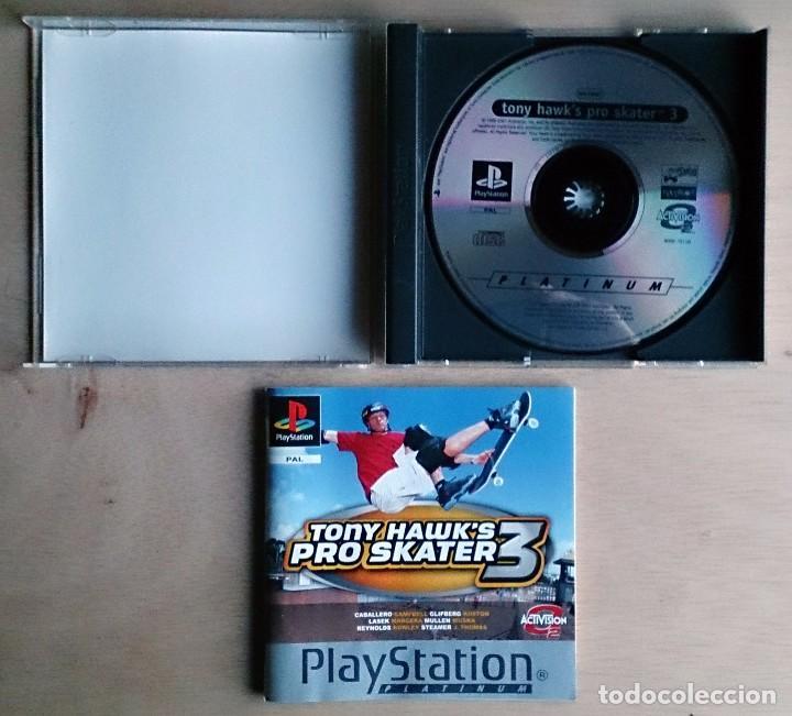 Videojuegos y Consolas: Tony Hawk's Pro Skater 3 / Juego PlayStation Play Station PSone / PAL / Activision 2001 - Foto 2 - 69488197