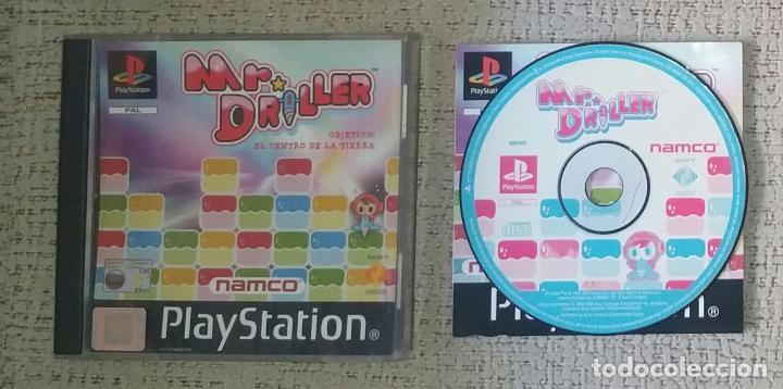 SONY PLAYSTATION MR DRILLER DE NAMCO COMPLETO!!!!! PSX (Juguetes - Videojuegos y Consolas - Sony - PS1)