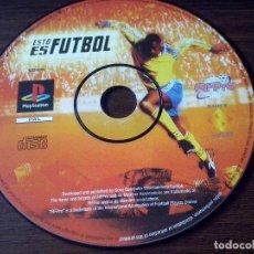 Videojuegos y Consolas: JUEGO PLAY STATION 1 PSX PLAYSTATION ESTO ES FUTBOL. SOLO JUEGO. FUNCIONA.. Lote 71052745