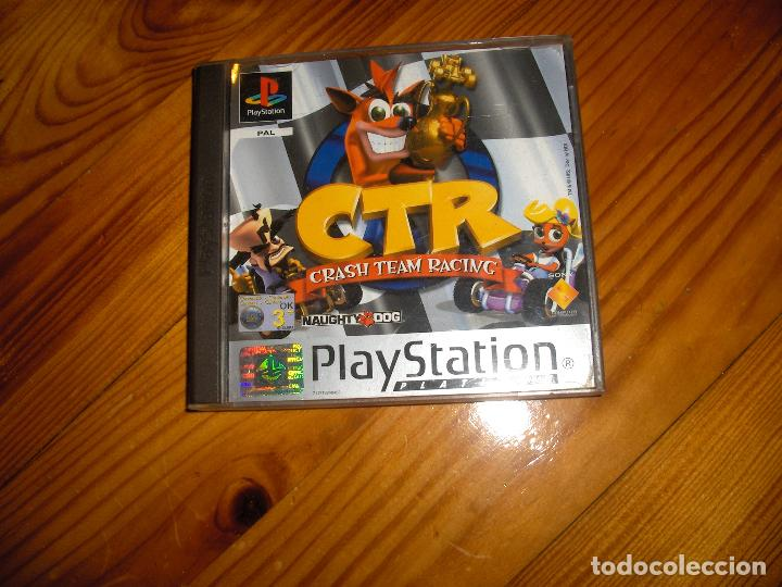 crash team racing completo- play 1 segunda mano