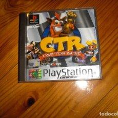 Videojuegos y Consolas: CRASH TEAM RACING COMPLETO- PLAY 1. Lote 71385223