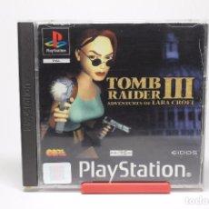 Videojuegos y Consolas: TOMB RAIDER III LAS AVENTURAS DE LARA CROFT PSX PS1 PSONE PLAYSTATION 1 . Lote 71693251
