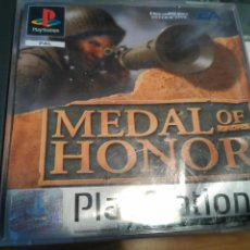 Videojuegos y Consolas: PLAYSTATION 1 PSX PS1 MEDAL OF HONOR COMPLETO VERSION PAL ESPAÑA. Lote 72383699