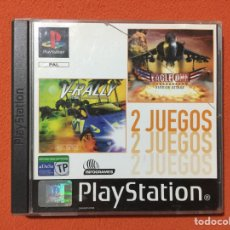 Videojuegos y Consolas: 2 JUEGOS PLAYSTATION - V-RALLY + EAGLE ONE - PSX PLAY STATION - SONY PS1 PS ONE. Lote 72422071