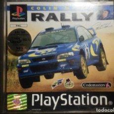 Videojuegos y Consolas: JUEGO PLAYSTATION 1 - PS1 - RALLY - COLIN MACRAE - CODEMASTERS - ORIGINAL COMPLETO -. Lote 72824767