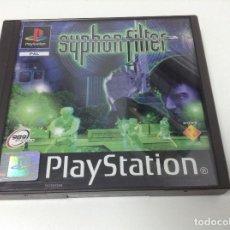 Videojuegos y Consolas: SYPHON FILTER. Lote 156542429