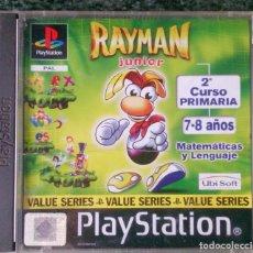 Videojuegos y Consolas: JUEGO PLAYSTATION RAYMAN JUNIOR 2 CURSO PRIMARIA MATEMÁTICAS Y LENGUAJE. Lote 75219331