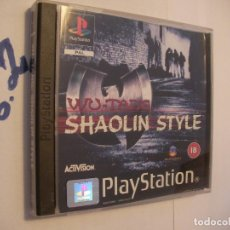 Jeux Vidéo et Consoles: ANTIGUO JUEGO PLAYSTATION - WU TANG - TASTE THE PAN. Lote 75827679
