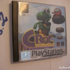 Videojuegos y Consolas: ANTIGUO JUEGO PLAYSTATION - CROC LEGEND OF THE COBOS. Lote 75830663
