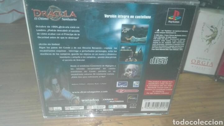 Videojuegos y Consolas: Drácula 2 PlayStation discos impolutos sin una marca - Foto 2 - 75842371