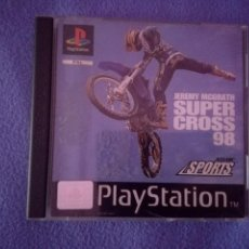 Videojuegos y Consolas: JEREMY MCGRATH SUPERCROSS 98 PS1 SUPER CROSS. Lote 44636125