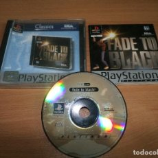 Videojuegos y Consolas: PLAYSTATION 1 PS ONE -FADE TO BLACK -PLAY STATIONSONY COMPLETO. Lote 76906971