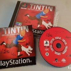 Videojuegos y Consolas: JUEGO - TINTIN DESTINO AVENTURA PS1. Lote 76920315