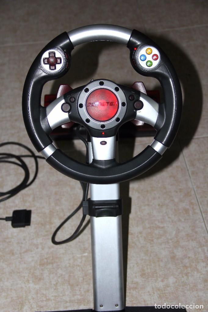 Videojuegos y Consolas: GAMESTER CONSOLA PLAYSTATION PLAY STATION VOLANTE MANDO VIDEOJUEGO - Foto 4 - 78378689