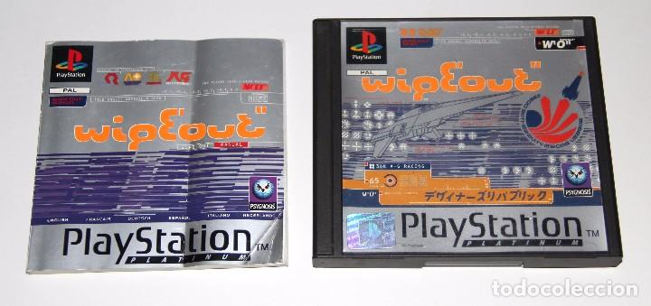 WIPEOUT WIPE OUT PLAYSTATION PSX VIDEOJUEGO (Juguetes - Videojuegos y Consolas - Sony - PS1)